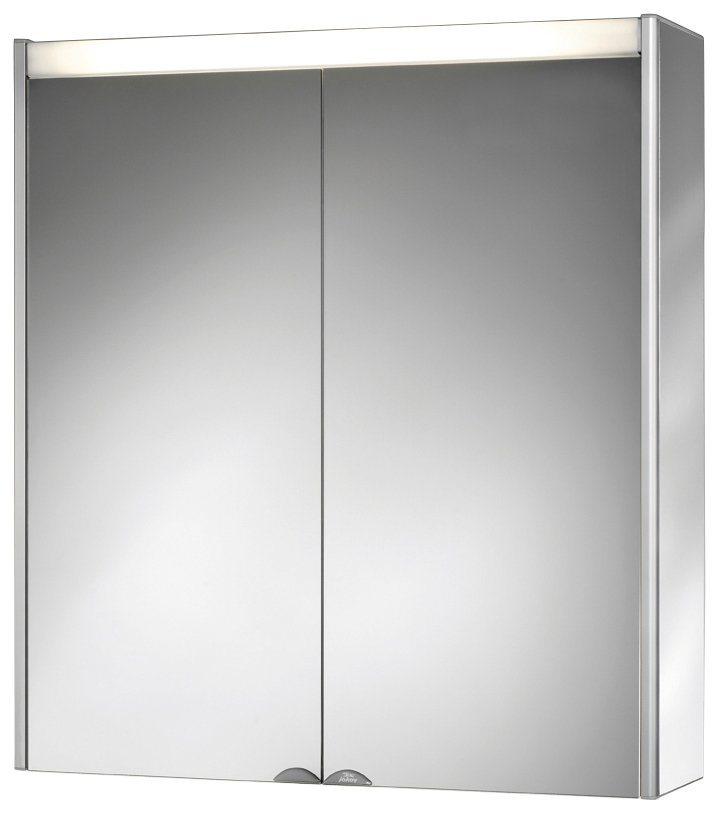 Jokey Spiegelschrank »DekorALU LS« Breite 65,5 cm, mit Beleuchtung in transparent