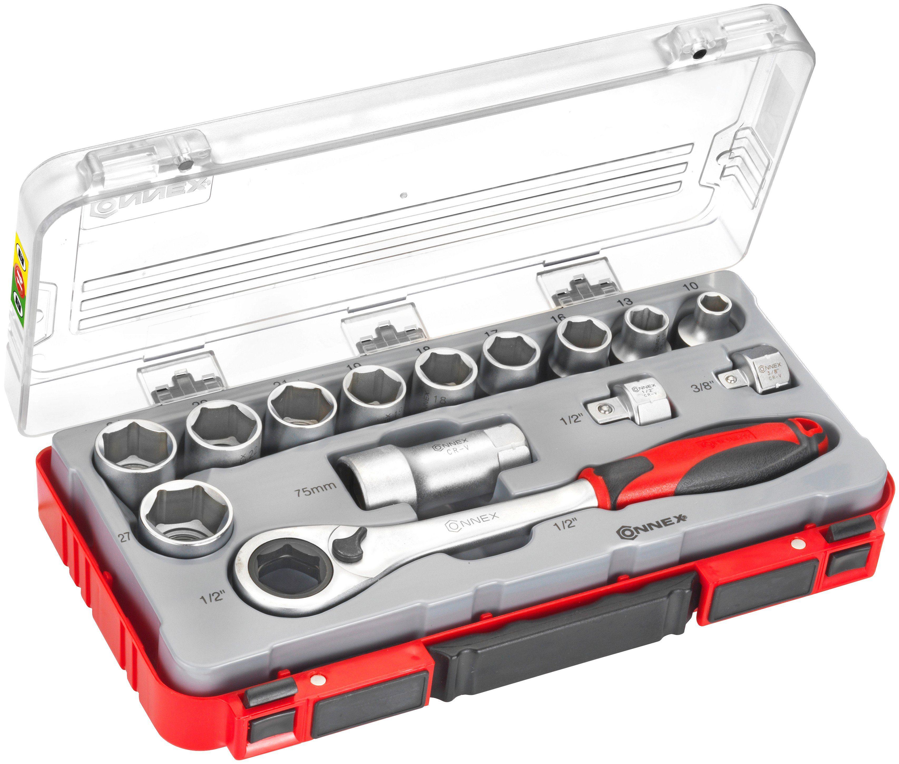 Connex Steckschlüssel-Durchstecksatz »COX580214«, 14-tlg.
