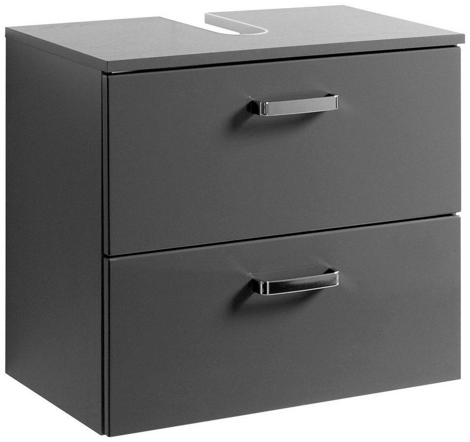 Waschbeckenunterschrank »Ancona«, Breite 60 cm in grau