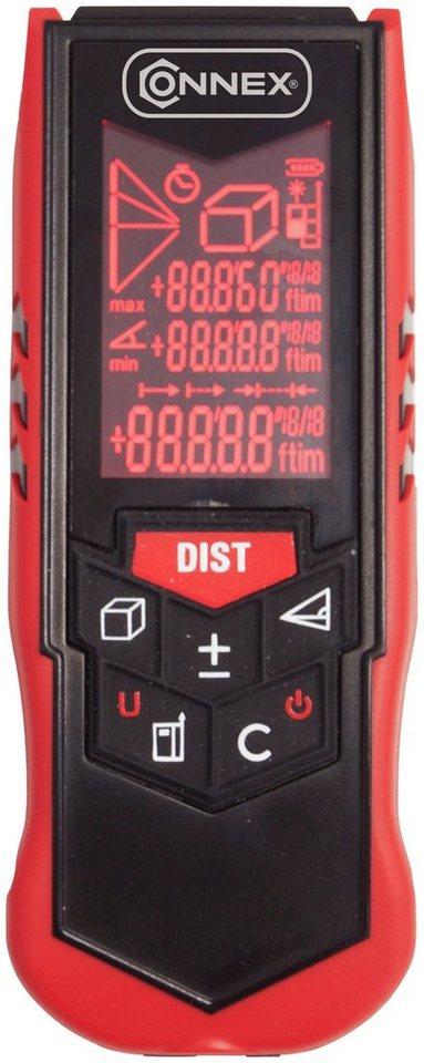 Connex Laserentfernungsmesser »COXB364001« in schwarz