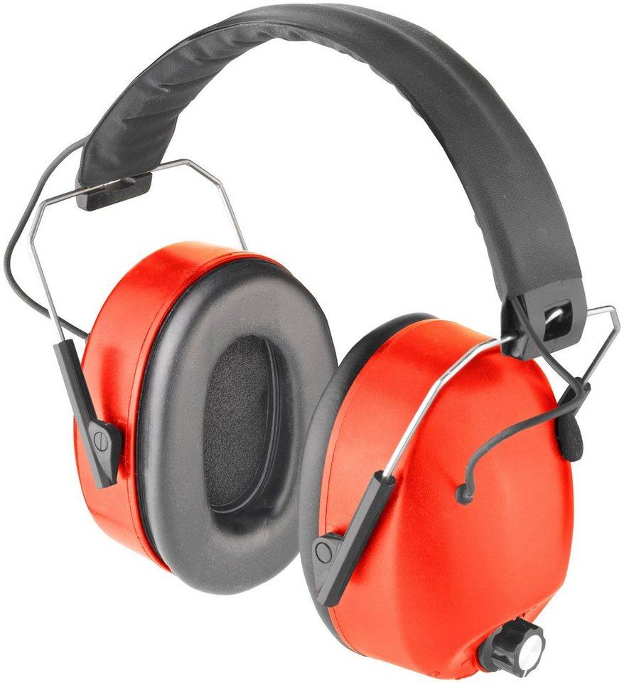 Elektronischer Kapselgehörschutz »COXT938709« in rot