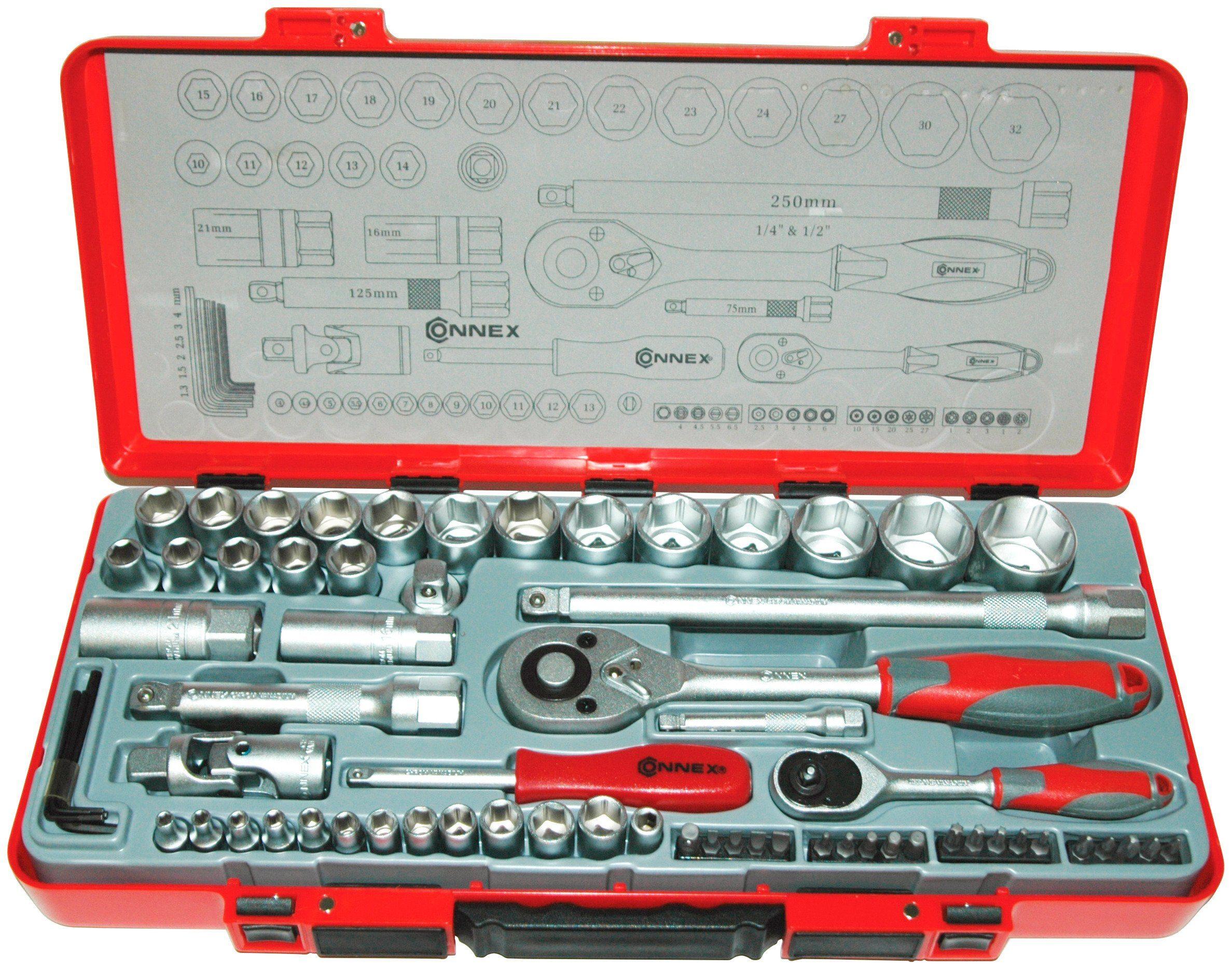 Steckschlüsselsatz »COX580267«, 67-tlg.