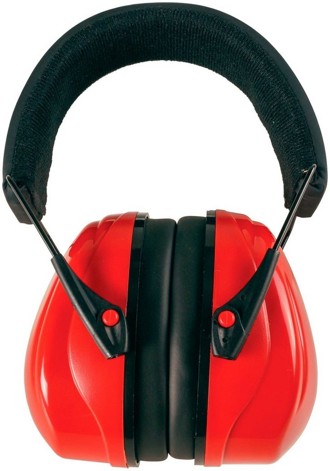 Profi-Kapselgehörschutz »COXT938706«, faltbar in rot