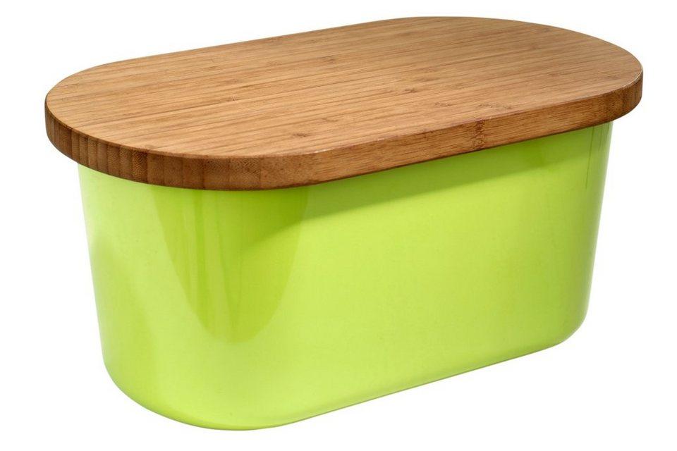 heine home Brotbox in grün