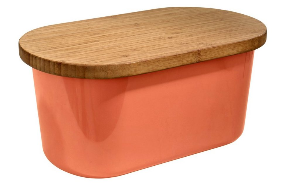 heine home Brotbox in orange