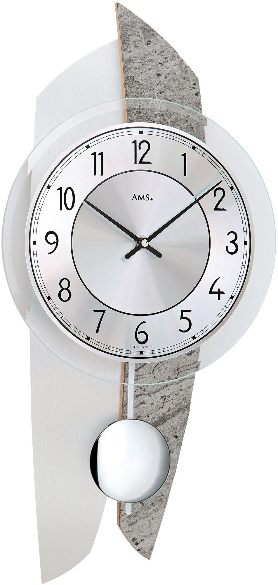 AMS Pendelwanduhr, »W7410«