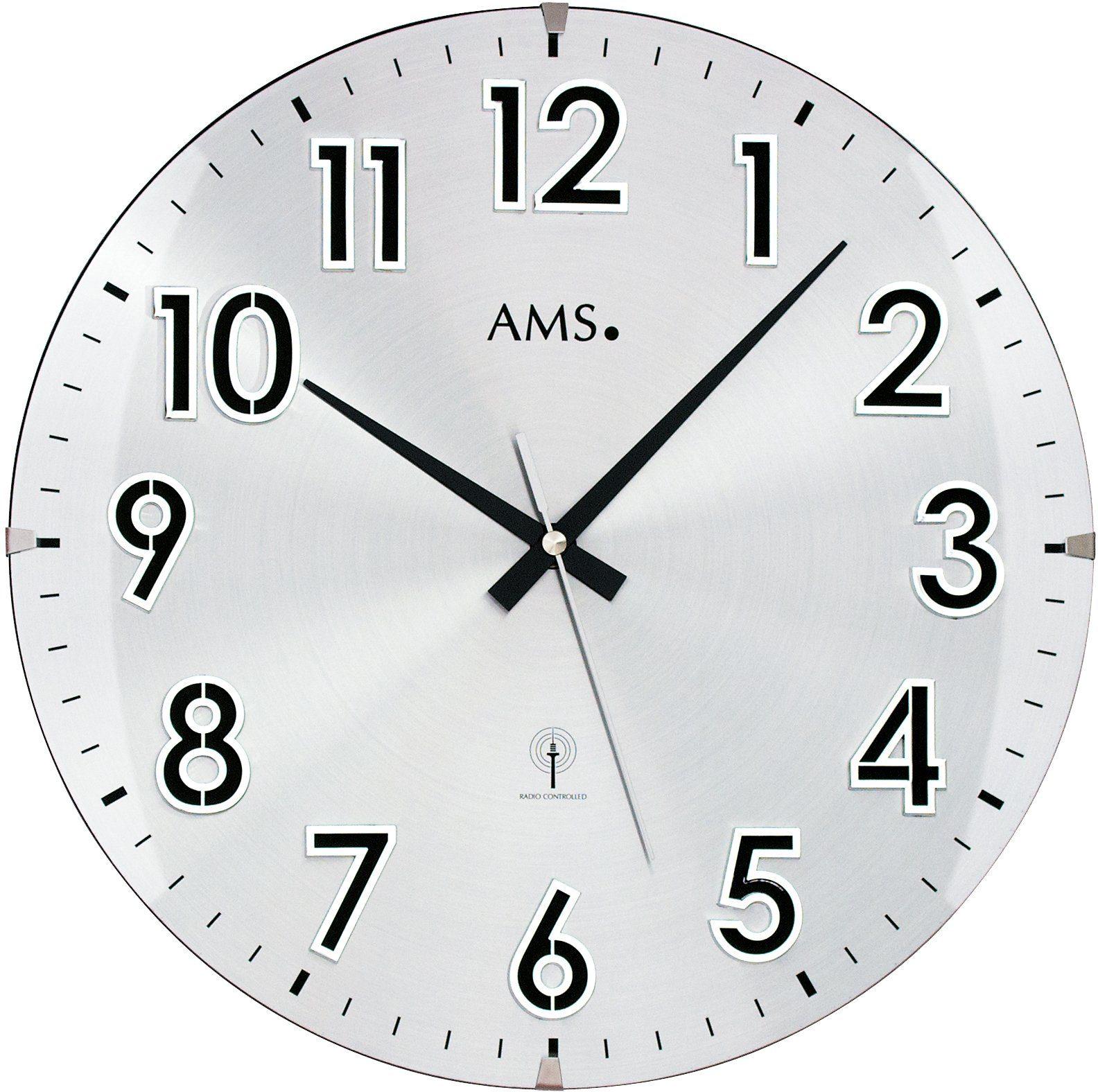 AMS Funkwanduhr, »F5973«