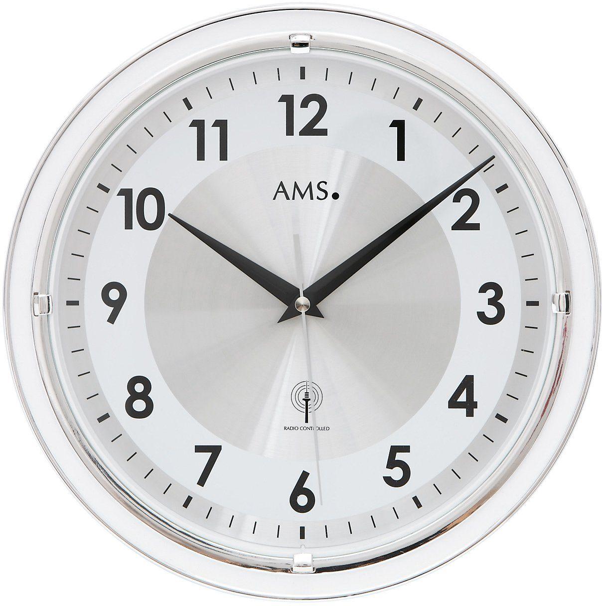 AMS Funkwanduhr, »F5945«
