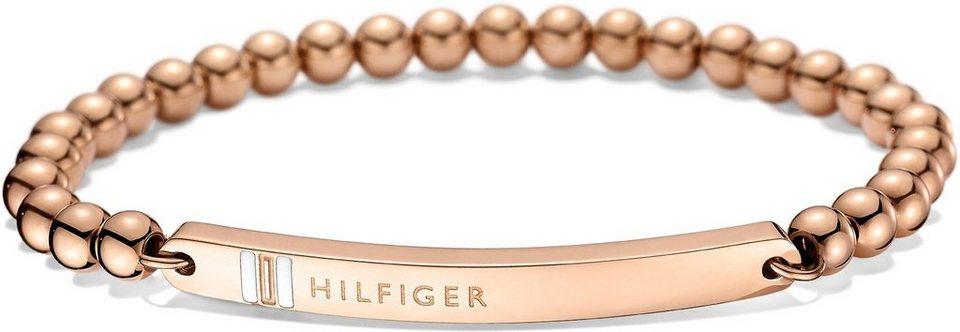 Tommy Hilfiger Armband, »Classic Signature, 2700788« in roségoldfarben