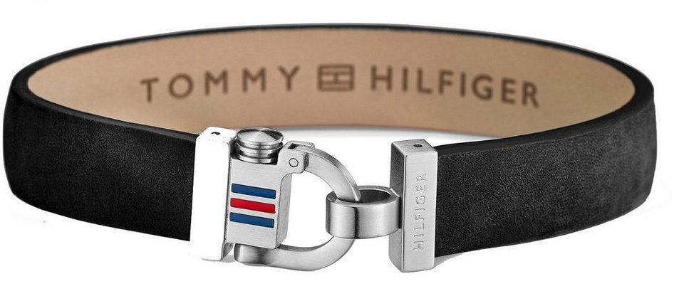 Tommy Hilfiger Armband, »Men's Casual, 2700767« in silberfarben-schwarz