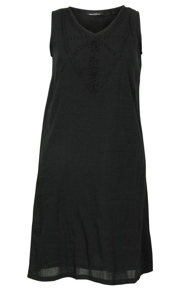 Ciso A-Linien-Kleid in schwarz