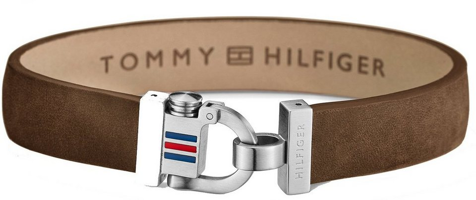 Tommy Hilfiger Armband, »Men's Casual, 2700768« in silberfarben-braun