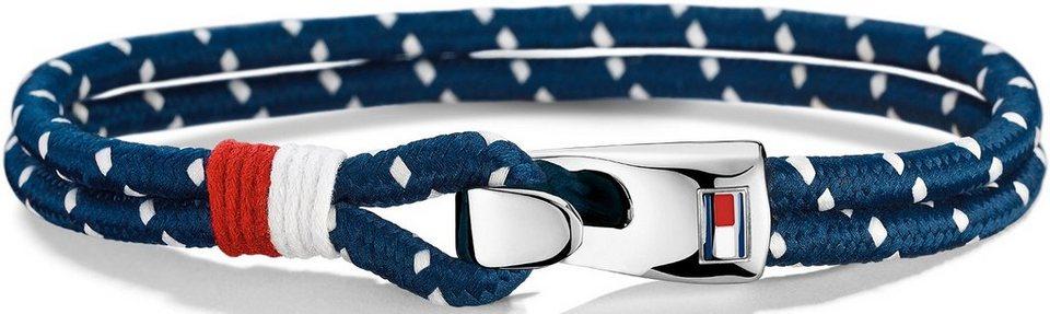 Tommy Hilfiger Armband, »Men's Casual, 2700756« in silberfarben-blau