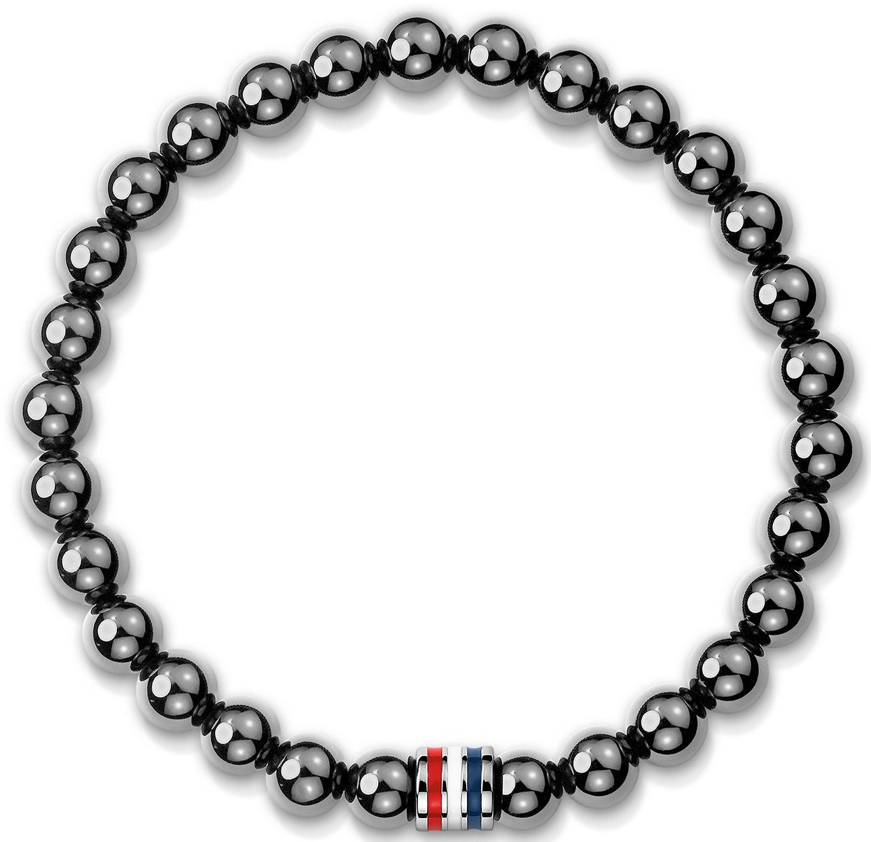Tommy Hilfiger Armband mit Hämatit, »Men's Casual, 2700755L«