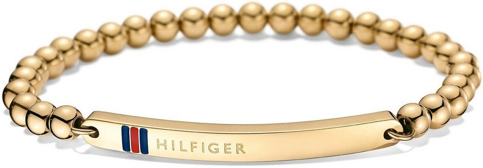 Tommy Hilfiger Armband, »Classic Signature, 2700787« in goldfarben