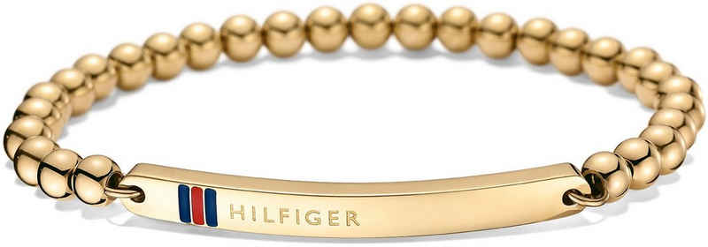 Tommy Hilfiger Armband »2700787, Classic Signature«, mit Emaille