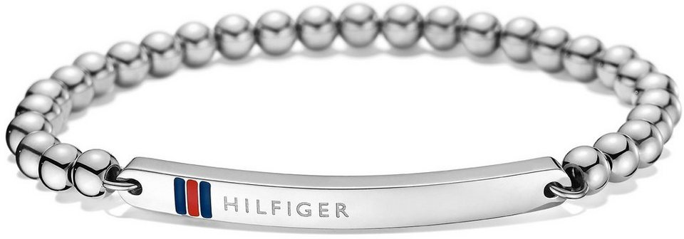 Tommy Hilfiger Armband, »Classic Signature, 2700786« in silberfarben