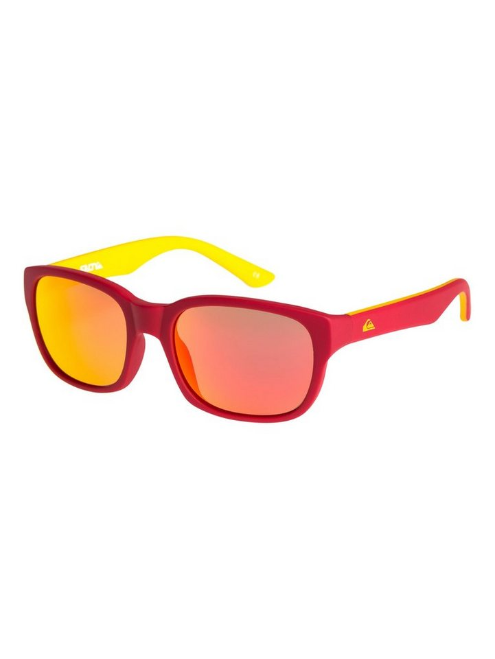 Quiksilver Sonnenbrille »Salty« in Rubberized red/ml red