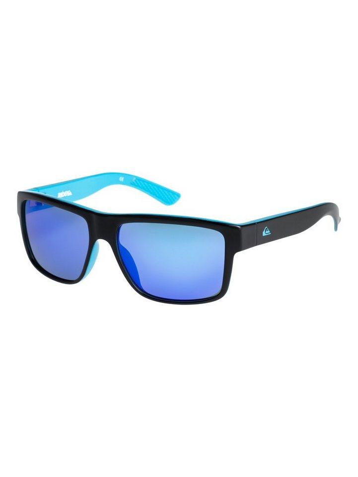Quiksilver Sonnenbrille »Ridgy« in Black-blue/flash blue