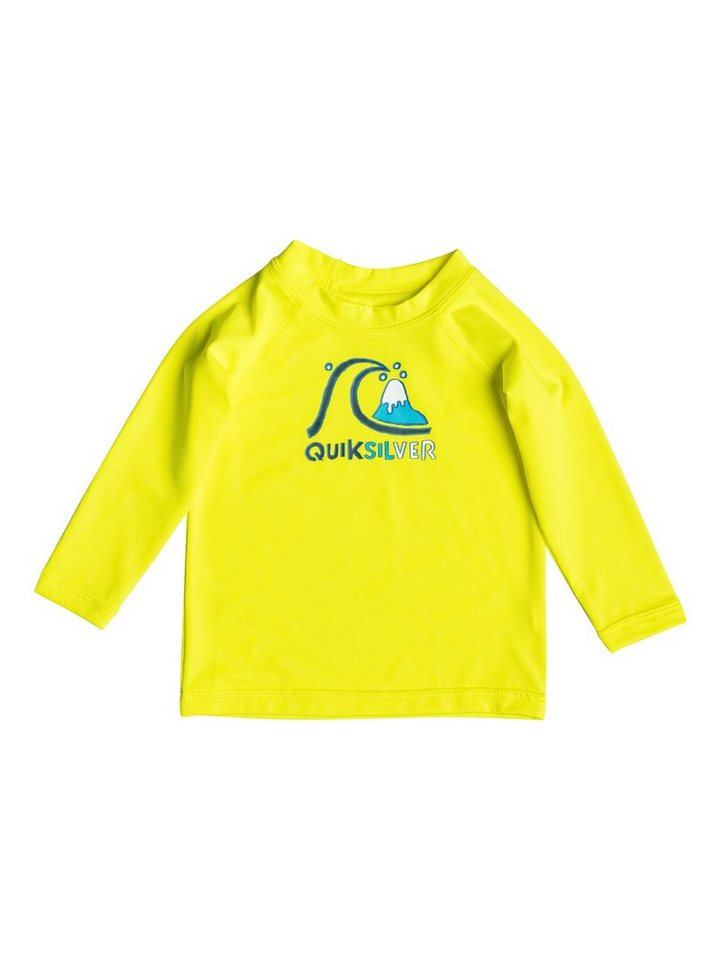 Quiksilver Rash Vest »Bubble« in Safety yellow