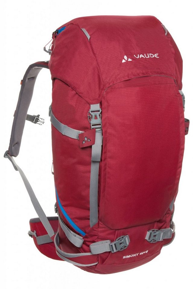 VAUDE Sport- und Freizeittasche »Simony 30+8 Backpack« in rot