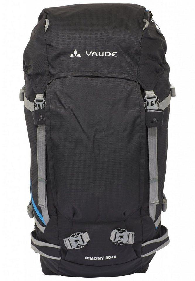 VAUDE Sport- und Freizeittasche »Simony 30+8 Backpack« in schwarz