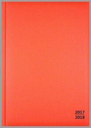 Buch mit Kunststoff-Einband »Lehrerkalender: Wochenplaner, orange 2017/2018«