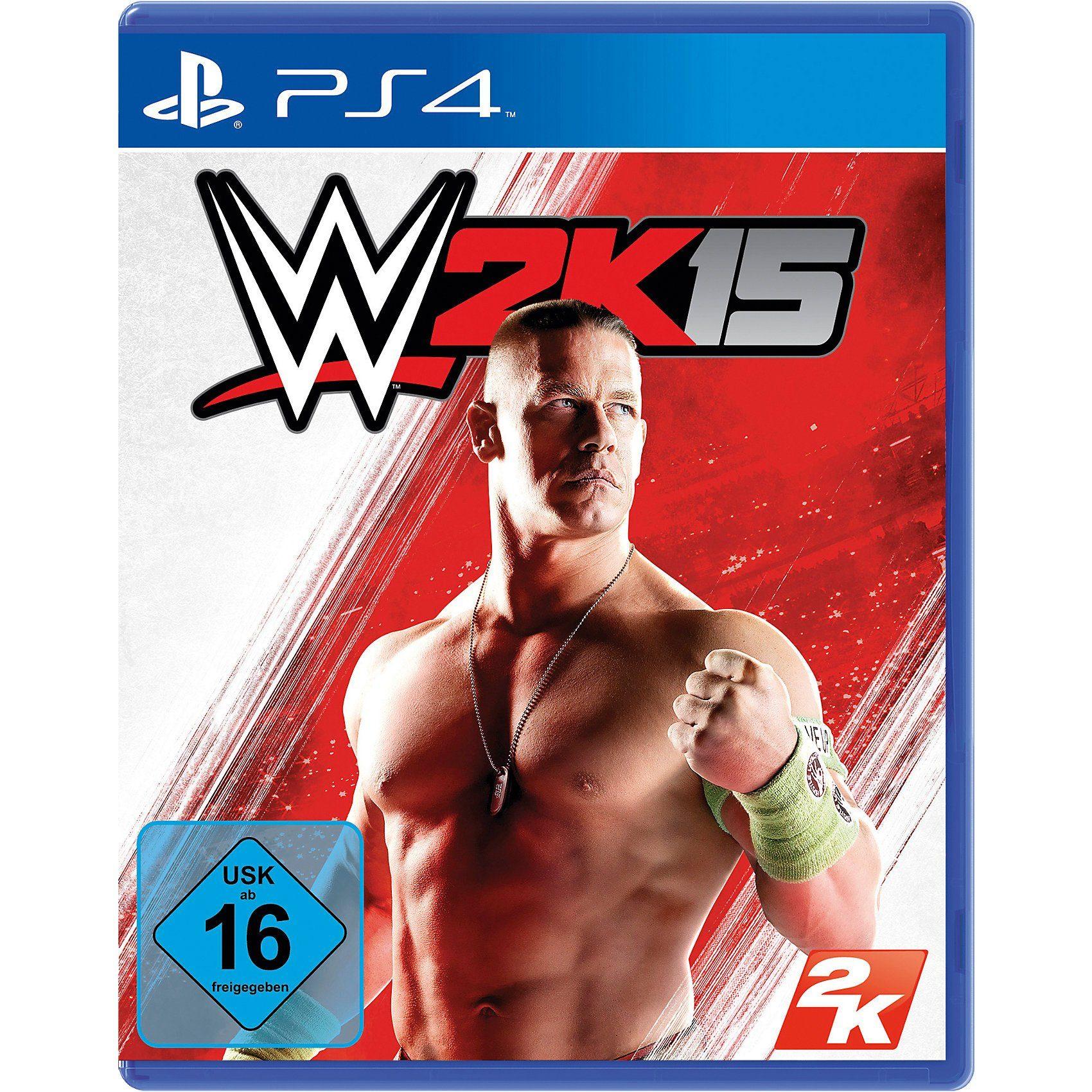 ak tronic PS4 WWE 2K15