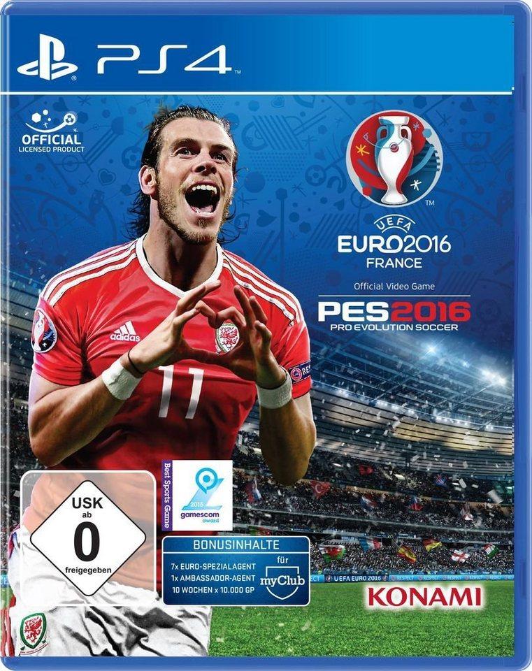 konami playstation 4 spiel uefa euro 2016 pes online kaufen otto. Black Bedroom Furniture Sets. Home Design Ideas