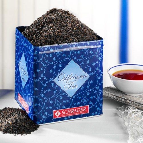 Schrader Tee Nr. 18 Schwarzer Tee Ostfriesland Ostfriesenalltag