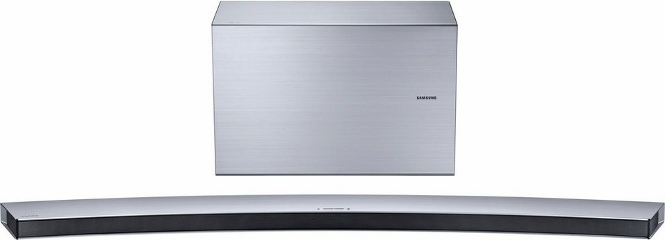 Samsung HW-J8500R / HW-J8501R Soundbar (Hi-Res, Multiroom, Bluetooth, WiFi, Spotify, Deezer) in silberfarben
