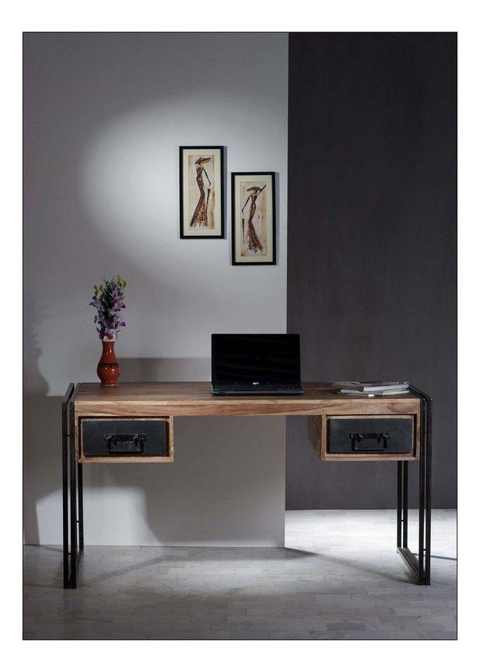 sit schreibtisch panama breite 150 cm mit 2 schubladen. Black Bedroom Furniture Sets. Home Design Ideas
