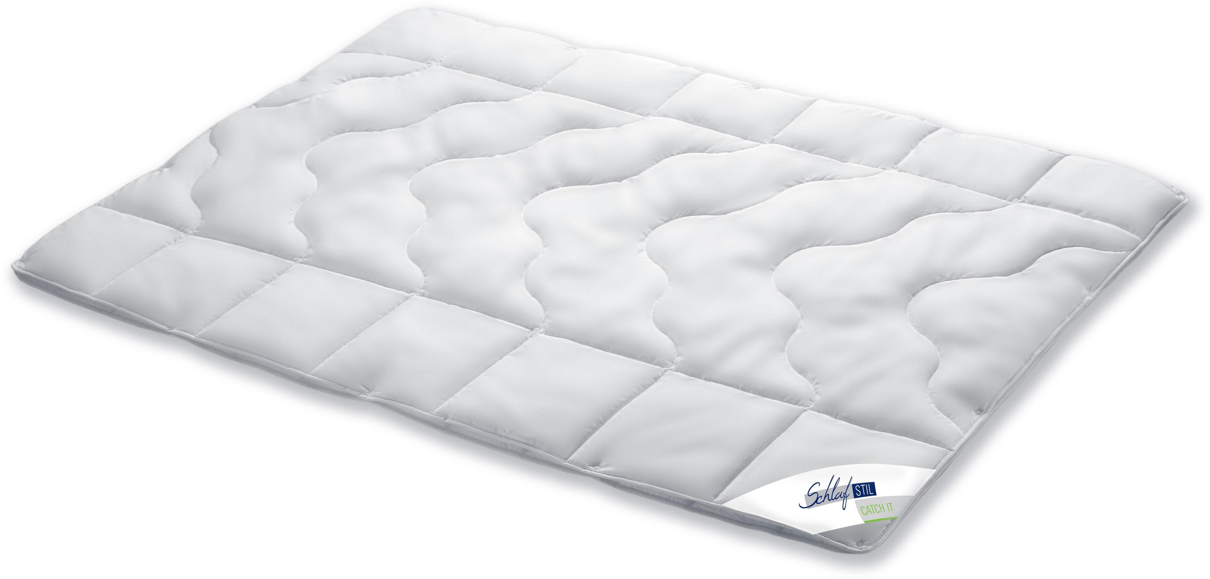 4-Jahreszeitenbett, »Catch It«, Schlafstil, 4-Jahreszeiten, Bezug: 100% Baumwolle, (1-tlg)
