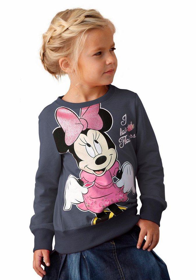 Disney Sweatshirt mit großem Druck in marine