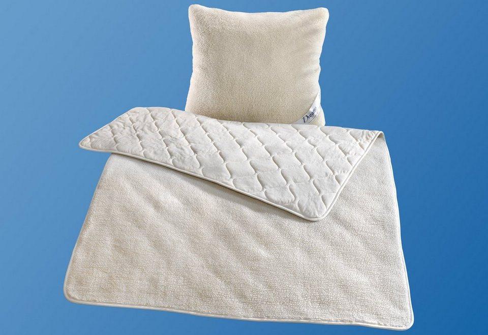 Naturfaserbettdecke Kuschelflor Doubleface Dreams Extrawarm Fullung Waschbare Wolle 1 Tlg Online Kaufen Otto