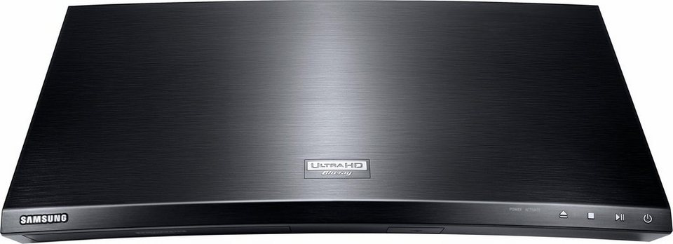 Samsung UBD-K8500 3D Blu-ray-Player, Hi-Res, 3D-fähig, 4K (Ultra-HD), WLAN in schwarz