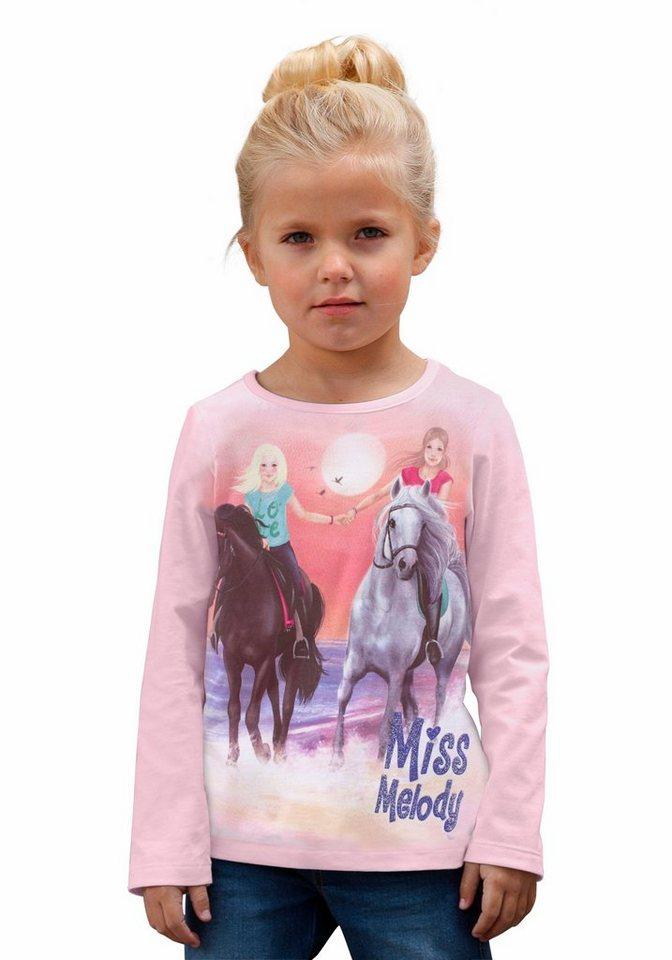 Miss Melody Langarmshirt in rosa