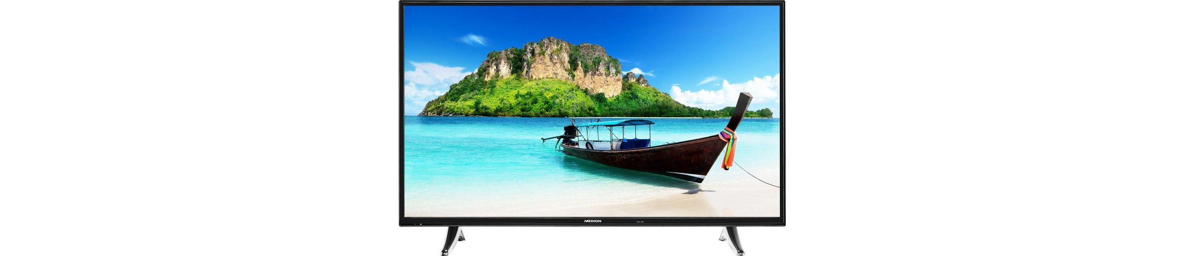 Medion® Life P18072 (MD 31093), LED Fernseher, 123 cm (49 Zoll), 1080p (Full HD), Smart-TV
