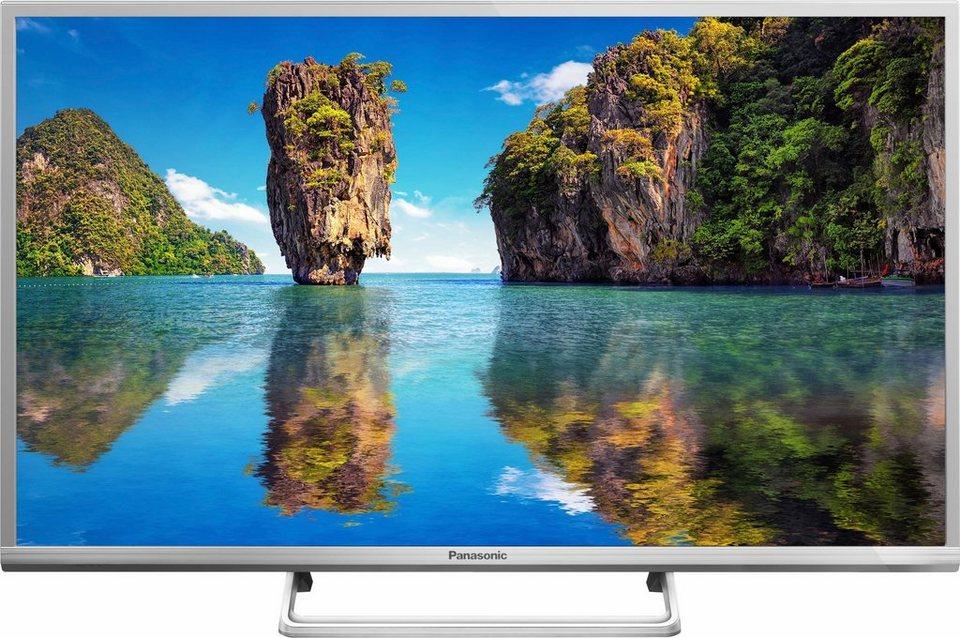 Panasonic TX-32DSW504S, LED Fernseher, 80 cm (32 Zoll), HD-ready 720p, Smart-TV in silberfarben