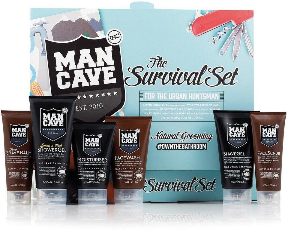 ManCave, »The Survival Set«, Gesichtspflegeset für Männer