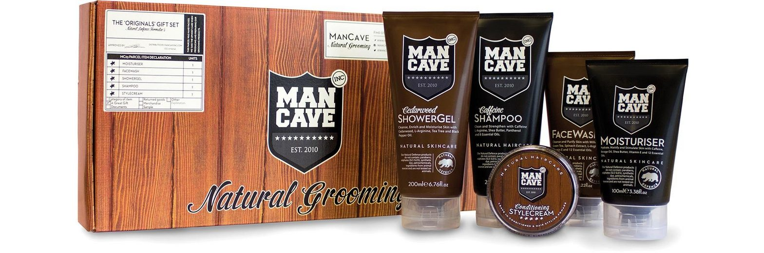 ManCave, »The Originals Set«, Körperpflegeset für Männer