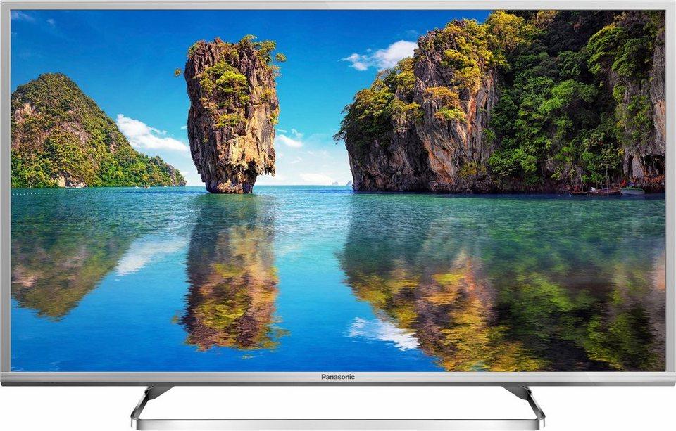 Panasonic TX-40DSW504S, LED Fernseher, 100 cm (40 Zoll), 1080p (Full HD), Smart-TV in silberfarben