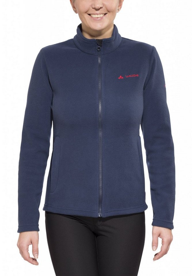 VAUDE Outdoorjacke »SE Fleece Jacket Women« in blau