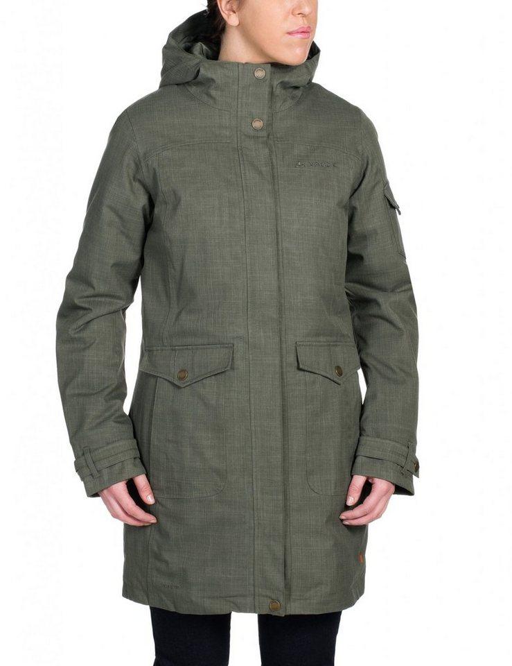 VAUDE Outdoorjacke »Yale VII Coat Women« in oliv