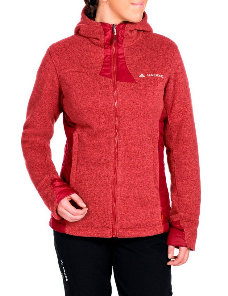 VAUDE Outdoorjacke »Rienza Padded Jacket Women« in rot