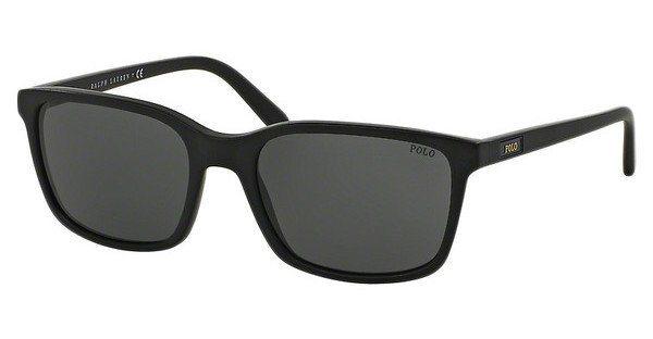 Polo Herren Sonnenbrille » PH4103« in 528487 - schwarz/grau
