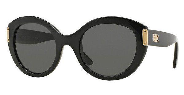 Versace Damen Sonnenbrille » VE4310« in GB1/87 - schwarz/grau