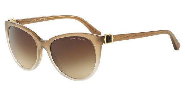 Emporio Armani Damen Sonnenbrille » EA4057« in 545813 - braun/braun