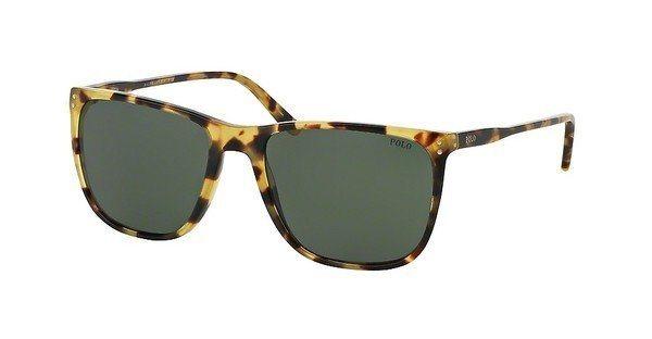 Polo Herren Sonnenbrille » PH4102« in 500471 - braun/grün