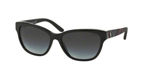 Polo Damen Sonnenbrille » PH4093« in 54998G - schwarz/grau